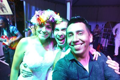Dj Willy Flechas: ¡El show audiovisual que tu boda se merece!