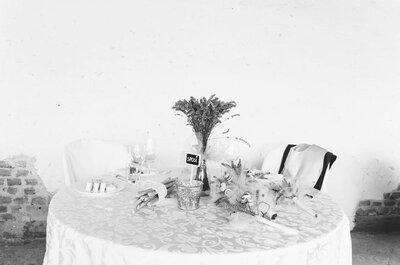 7 modi per decorare il tavolo più speciale del matrimonio, quello degli sposi!