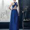 Hochzeitsgastkleid aus der Festmodenkollektion 2015 von Rosa Clará (8T2A2)