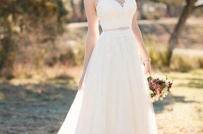Traumhafte Brautkleider von Essense of Australia 2016: Vintage-Details & romantische Schnitte