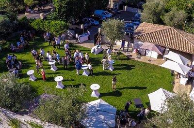 Prenez de la hauteur pour un mariage à 360 degrés avec MLV Drone