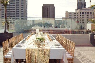 Casamento durante o dia: cor e estilo para suas mesas!
