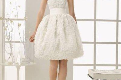 Vestidos de novia cortos 2013