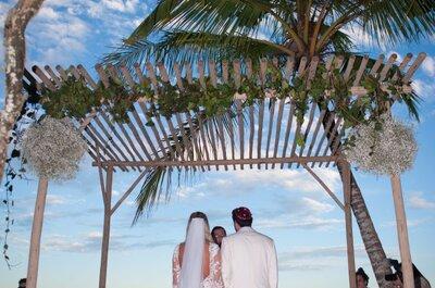 "Destination ""fashion"" wedding: een rustiek-chique bruiloft in Trancoso"