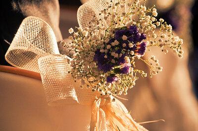 Fotografia de casamento: a noiva em pormenor