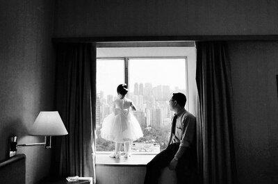 Aunque la novia llegue al altar...siempre será la princesa de papá