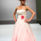 L'incantesimo di un rosa sfumato per la sposa Sbiroli 2014. Foto ©SiSposaItalia via Press Office Fiera Milano