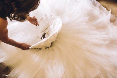 ¿El matrimonio ha pasado y no sabes qué hacer con tu vestido de novia? ¡Toma nota de estas cinco alternativas!