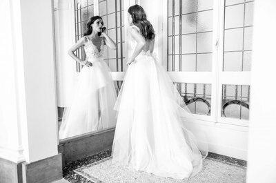 Chic et intemporelle, découvrez la collection de robes de mariée du créateur David Purves