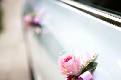 Hochzeitsdekoration 2015: Rosen als besonderes Detail!