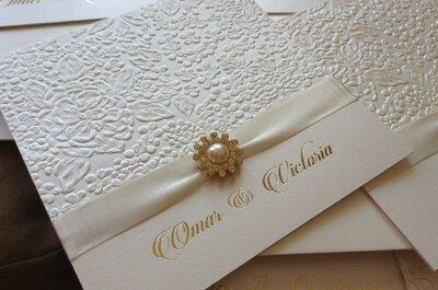 Las 4 mejores empresas de tarjetas de invitación para matrimonio en Barranquilla
