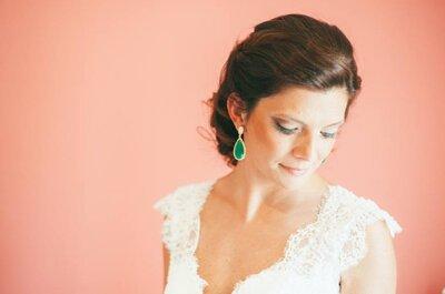 Uma escolha feliz: o vestido de noiva perfeito segundo o vosso corpo!