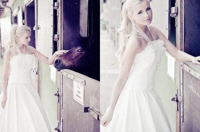 Das müssen Sie gesehen haben: Ein Brautkleid à la