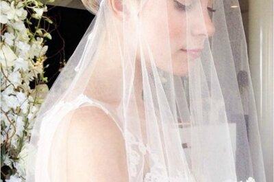Velo de novia 2015, accesorios tradicionales reinventados ante las exigencias del momento