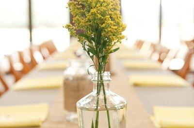 Cómo organizar una boda minimalista: menos siempre es más