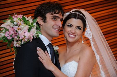 Larissa e Marcelo: casamento clássico colorido e SUPER divertido em BH!
