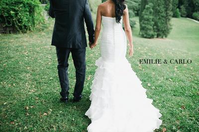 Encantadora boda de Emilie y Carlo en el Hotel Kempinski de Ginebra