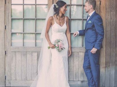 Le mariage non conventionnel, intimiste et raffiné de Yéléna et Christophe