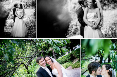 Real Wedding als Inspiration: Eine Sommerhochzeit in Freiburg