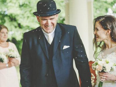 Niesamowity reportaż ślubny Gizeli i Thorstena w pałacu. Zapraszamy!