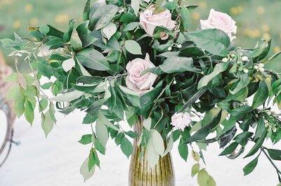 Uma flor que nunca iria pensar para o seu casamento! Sabe qual é?