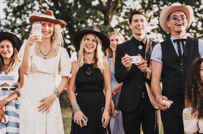 Cómo dar las gracias a tus invitados el día de la boda