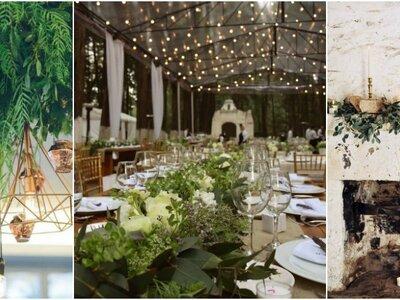 Cuál es la mejor forma de utilizar el follaje para la decoración en tu boda