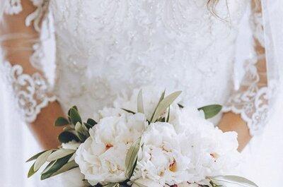 Le 3 caratteristiche del perfetto bouquet da sposa 2017