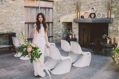 Casamento urbano: inspiração estilosa, personalizada, maravilhosa!