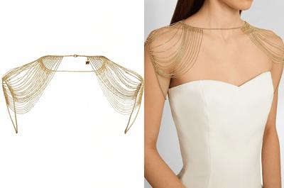 Une invitée de mariage fashionista : l'or brille de tout son éclat