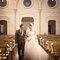 A entrada dos noivos na Igreja