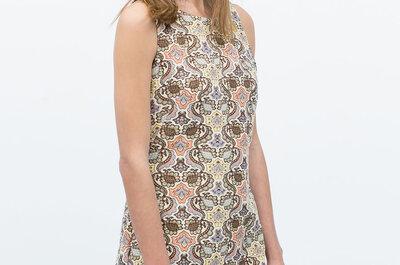 Lo último en vestidos de fiesta de Zara 2015