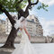 Suknia ślubna z kolekcji Cymbeline 2014.Model: HUGO