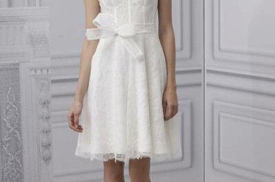 Selección de vestidos de novia con escote ilusión 2013