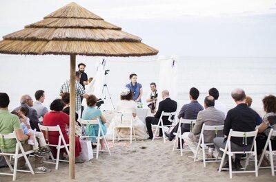 Sapore di sale, sapore di mare: il romantico matrimonio in spiaggia di Tiziana e Luca