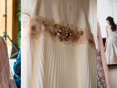 Gli 8 particolari rosa che faranno perdere la testa alle spose più romantiche