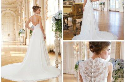 Die Lillian West Kollektion 2015: Klassische Brautkleider mit besonderen Details!