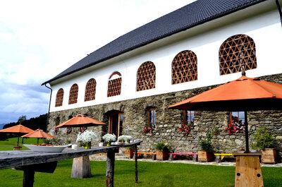 Hochzeitslocation Lilli's Feststadl: Feiern Sie Ihre Hochzeit in einem besonderen Ambiente in Kärnten!