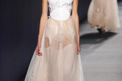 Los vestidos de novia más avant garde del 2015: Conoce la belleza en la colección de Vionnet