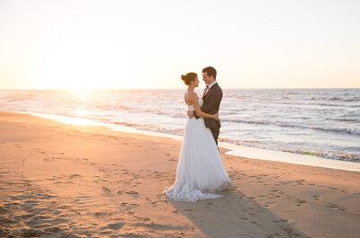 Le superbe mariage entre vignes et bord de mer d'Emmanuelle + Olivier
