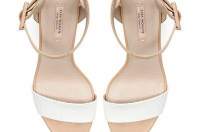 Kostengünstige Schuhe für die Braut