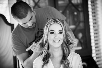 5 cosas que piensan las novias durante su prueba de maquillaje
