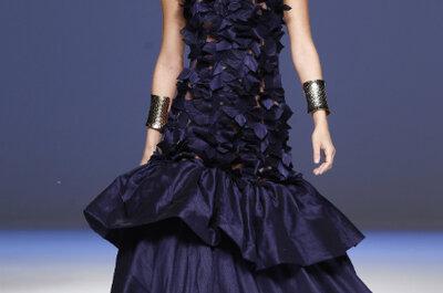 Vestidos de festa em azul escuro: para convidadas com classe
