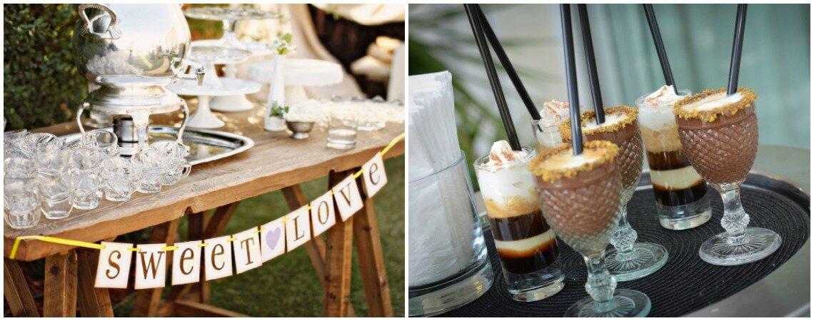 Mesa de chá, café e licor no casamento: mime os seus convidados!