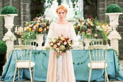 Весеннее вдохновение: загадочное утро невесты в цветущем саду