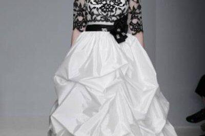Farbige Brautkleider für modische Bräute – die schönsten Hochzeitskleider 2013 in Farbe