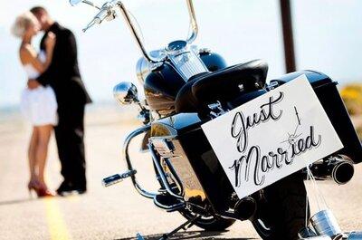 Harley Davidson che passione! Ecco come organizzare un matrimonio a tema!