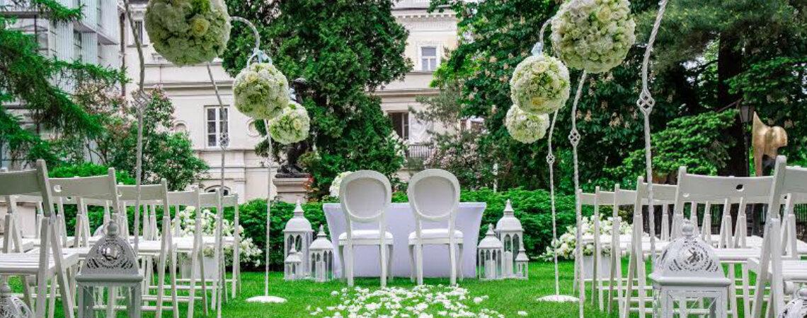 Ślubne dekoracje florystyczne w Warszawie- TOP 10!