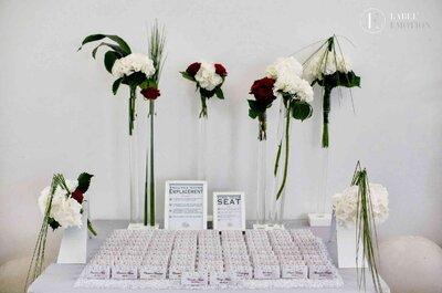 Les Escort cards, une idée originale pour votre plan de table