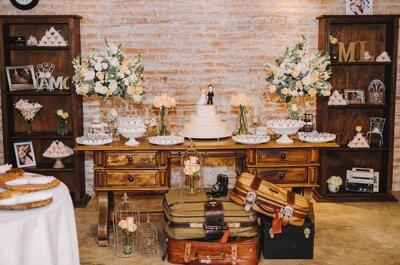 Como decorar um casamento vintage: anote as peças fundamentais.
